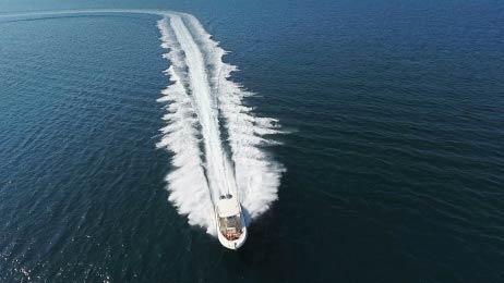 Αεροφωτογράφηση γιώτ - Χαλκιδική - Βουρβουρού