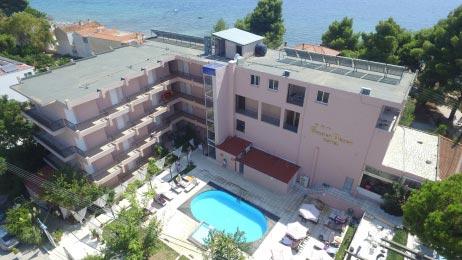 Αεροφωτογράφηση ξενοδοχείου στη Σιθωνία