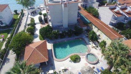 Αεροφωτογράφηση ξενοδοχείου στη Χαλκιδική