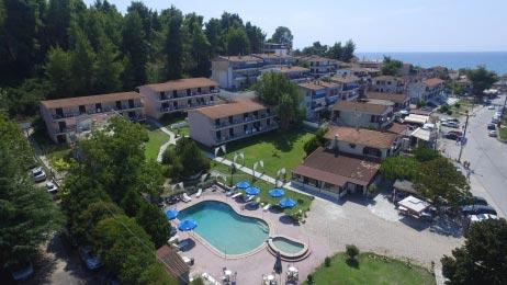 Αεροφωτογράφηση ξενοδοχείου στην Κασσάνδρα Χαλκιδικής