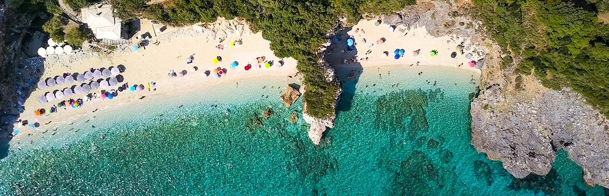 Αεροφωτογράφηση θαλασσών, beach bars